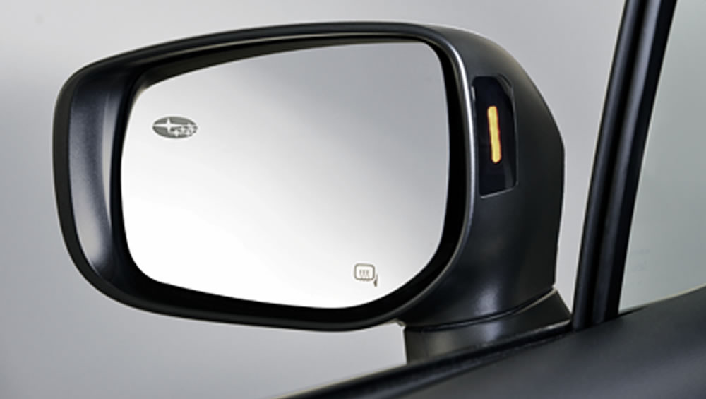 2019 Subaru Legacy Subaru Auto-dimming Side Mirrors with Approach Lighting
