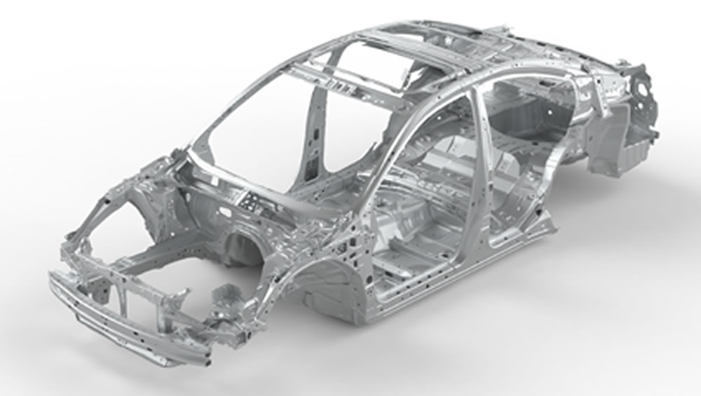 2019 Subaru Legacy Advanced Ring-shaped Reinforcement Frame