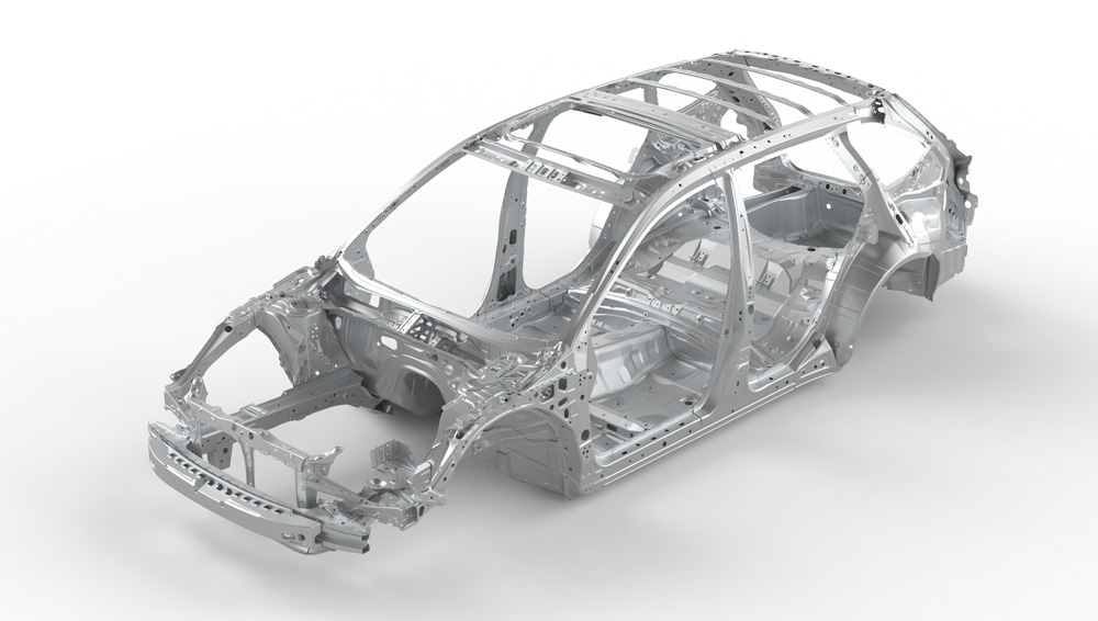 2019 Subaru XV Outback Advanced Ring-shaped Reinforcement Frame